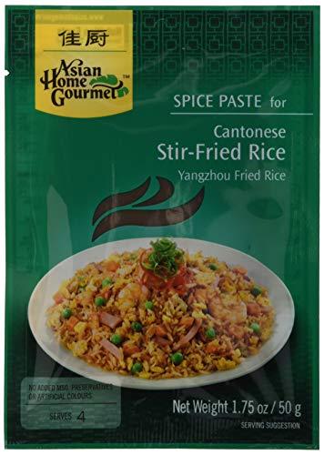 Asian Home Gourmet Würzpaste kantonesisch Reis, 6er Pack (6 x 50 g)