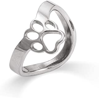 Best paw print thumb ring Reviews