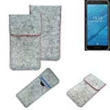 K-S-Trade® Protective Felt Case For Fairphone Fairphone 3