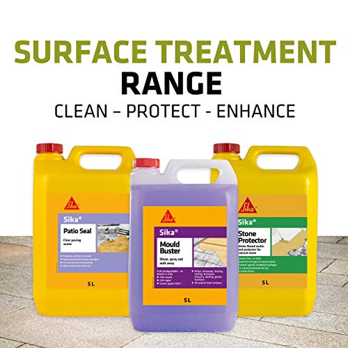 Sika Patio Seal - Paving Sealer, Clear, 5 Litre