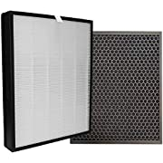 Comedes Replacement filterset for Philips AC3256/60 and AC3259/60 air purifiers, HEPA and Activated Carbon Filter | Replaces Philips FY3433/10 & FY3432/10 Filter
