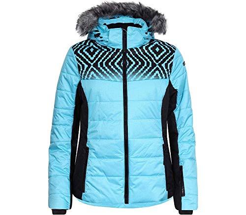 Icepeak Vigevano Kunstpelzkragen Skijacke Damen türkis *UVP 169,99 48