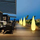 MH-LAMP Lampara Pie Exterior Jardin, Lampara Salon LED...