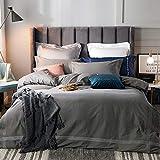 yaonuli Einfache einzelne doppelte Bettbezug Trampolin einfache Baumwolle vierteilige Eukalyptus...