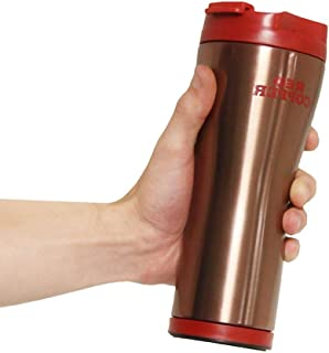 OKSLO 2 pack as seen on tv - red copper mug with ceramic lining mail order box