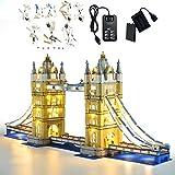 GEAMENT Kit de Luces LED para El Puente de Londres (Tower Bridge) - Compatible con Lego Creator 10214 (Juego Lego no Incluido) (con Instrucciones)