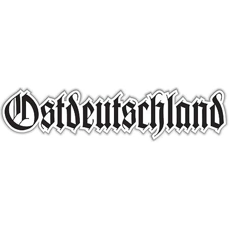 Aufkleber Wetterfest Ostdeutschland Altdeutsch 15 30 Oder 80 Cm Osten Ddr Auto