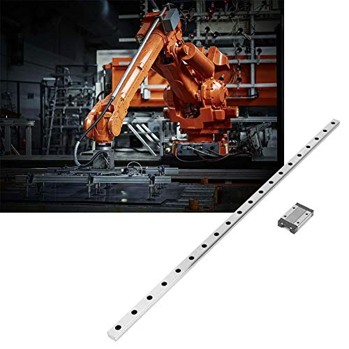 Linear rail guide with a width of 12 mm, linear slide rail, for DIY 3D printers(550mm)