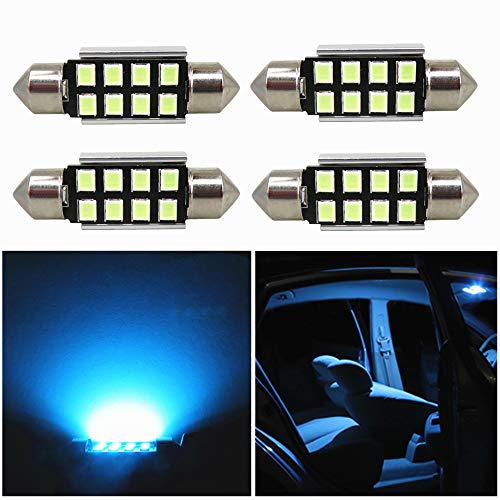 Practical Multifunctional White 42mm 16SMD Car LED Festoon Dome Map Interior Light Bulb Long Lasting Life