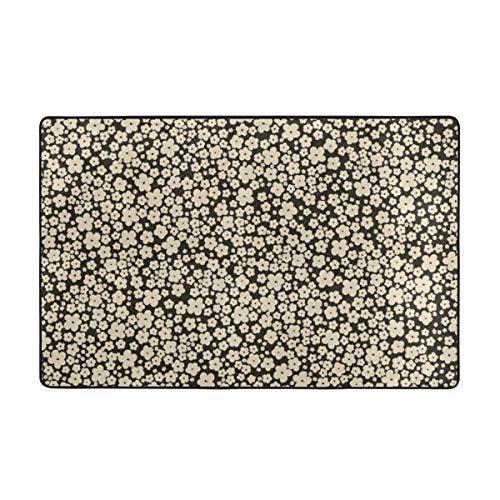 kThrones Badematte Teppich,Orientalische Motive Komon Mit Pflaume,Vektor Für Stoff Und Furoshiki Geschenkverpackung,Kimono,Papier Badezimmerteppich 75cm X 45cm