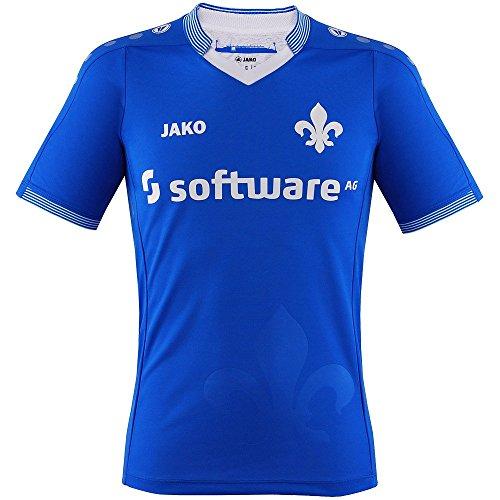 Camiseta del Darmstadt 98 para hombre (primera equipación de la temporada 2015/2016), hombre, azul, large