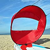 Crovida 42 Inch Kayak Sail Stand Up Paddle Kayak Sail Foldable Wind Sail for Kayaks, Canoes, Inflatable Boats, Tandems, Expedition Boats