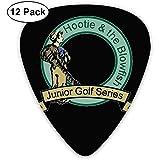 Fashion Hootie & The Blowfish Junior Golf Series Plektren (12 Stück) Für E-Gitarre, Akustikgitarre, Mandoline