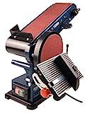 Ferm Ponceuse Stationnaire - 350W - 150mm - avec 2 Bandes abrasives...