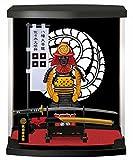 Authentic Samurai Figure Armor Series for Business and Home Gifts, Like Bushido and Ninja a Symbol of Japan, Fine Craftsmanship Home Ornament (Kanbee kuroda)