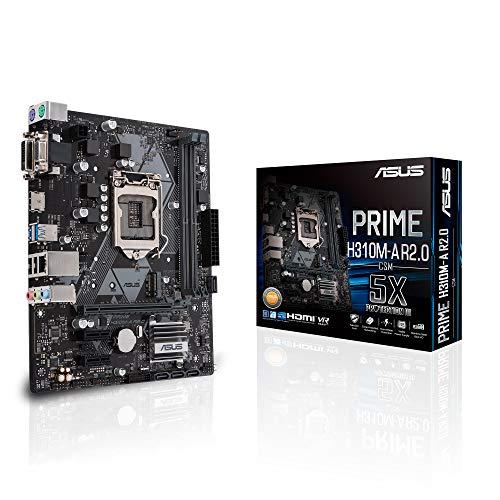 ASUS Prime H310M-A R2.0 LGA 1151 (Zócalo H4) Intel® H310 Micro ATX - Placa Base (DDR4-SDRAM, DIMM, 2133,2400,2666 MHz, Dual, 2GB,4GB,8GB,16GB, 32 GB)