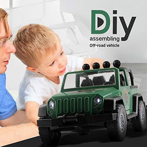 Metermall Home 44 stks/set DIY elektrische boor montage auto speelgoed kinderen puzzel auto speelgoed