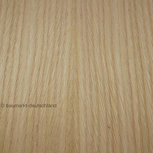 Echtholzfurnier mit Schmelzkleber 30cm Roteiche