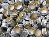 slkfactory 15St. Ersatz Schraubverschluss PP28 Drehverschluss Verschlüsse Schraubdeckel für Flaschen aus Aluminium (15 Stück)