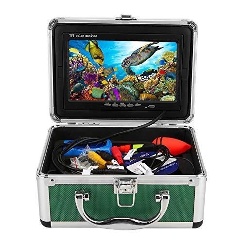 Draagbare fishfinder onderwatercamera 7 inch monitor 1000TVL waterdichte viscamera videocamera met 20 m kabel (EU-stekker)