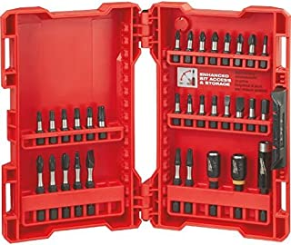 Milwaukee Electric Tool 48-32-4004 Shockwave Heavy Duty Impact Driver Bit Set, 32 Pc