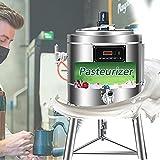 Filtro Birra 304 Acciaio Inox, Pastorizzatore Latte con Tecnologia Intelligente a Temperatura Costante per Produzione di Formaggio e Yogurt, Dimensioni del Prodotto: 40 * 40 * 70 cm (10 L)