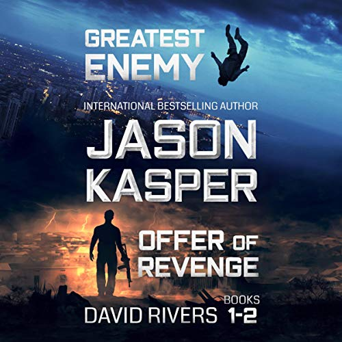 David Rivers, Books 1-2: Greatest Enemy & Offer of Revenge audiobook cover art