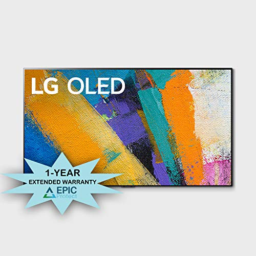 LG OLED55GXP 55″ OLED Gallery Design Smart 4K Ultra High Definition TV with an Additional 1 Year Coverage by Epic Protect (2020)