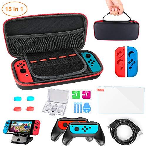 Funda para Nintendo Switch Lite 15 en 1 Kit de accesorios NS...