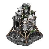 JKAD Decoración del Acuario Artificial Lunar Lander Forma Fish Tank Decoración De La Decoración De Seguridad