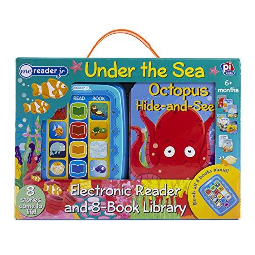 Under The Sea Me Reader Junior Electronic Reader and 8-Board Book Library - PI Kids (Me Reader Jr)