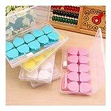 Chenhan Mini 5 Pares/Set Lentes de Contacto Lentes de Viajes Box Kit de Cuidado Ojos Soporte del contenedor de Regalo de Las Lentes de Contacto Accesorios Caja de Lente práctico (Color : Blue)