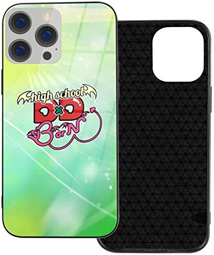 High School DXD Logo Anime iPhone 12 Series TPU Glass Case iphone12Pro MAX-6.7New 2021 Gifts