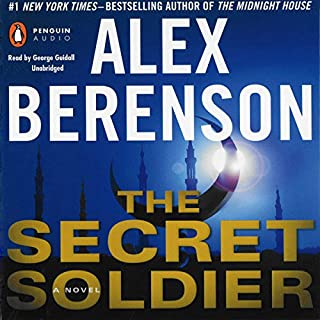 The Secret Soldier audiobook cover art