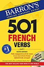 Barron's Foreign Language Guides - 501 French Verbs (With CD)