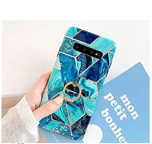 Uposao Compatible con Funda Samsung Galaxy S10 Plus Purpurina Funda Girly Case...
