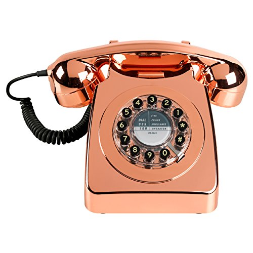 Wild and Wolf Retro 746 Telephone | Copper