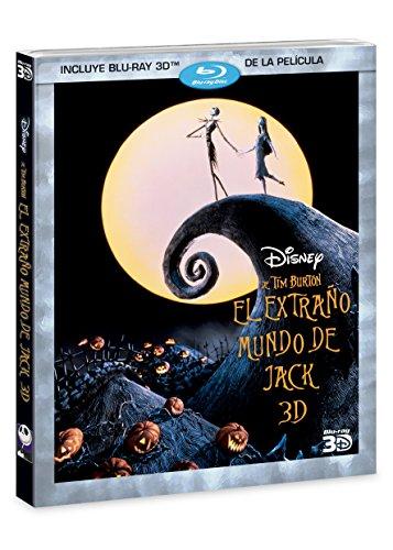 El Extraño Mundo de Jack 3D [Blu-ray]