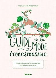 Guide de la mode écoresponsable par Elleore Boomstein