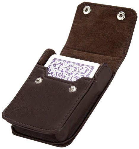 Brybelly Single Deck Leather Card Case