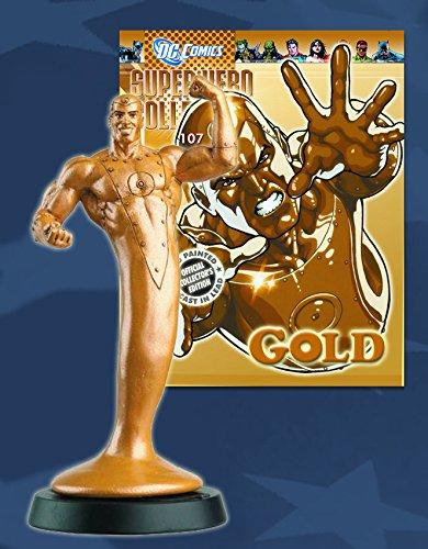 Statue von Blei DC Comics Super Hero Collection Nº 107 Gold