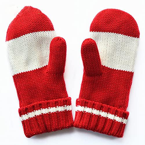 Guantes de punto, guantes suaves y transpirables con palmas, cómodo abrigo de...