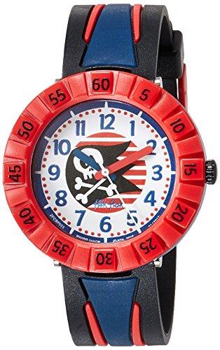 FlikFlak Jungen Analog Quarz Uhr mit Plastik Armband FCSP053