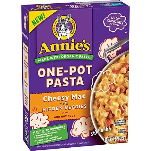 Annie's Homegrown Homegrown One-Pot Pasta With Hidden Veggies Cheesy Mac, 7.2oz, 7.2...