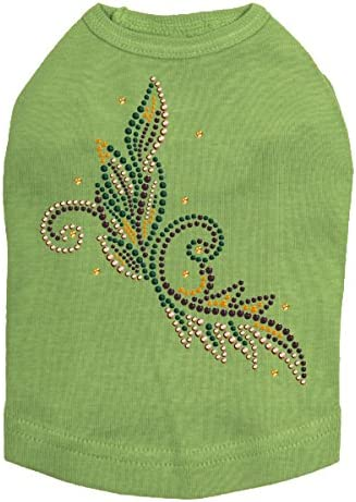 Fall Leaves # 2 - Halloween Rhinestone Award-winning Tucson Mall store Bling and Dog Shirt