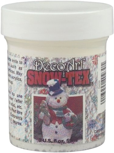 DecoArt Snow-Tex Paint, 2-Ounce