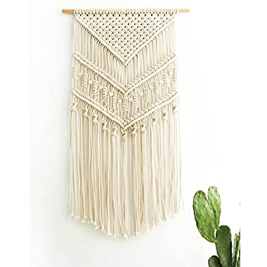 Mkono Macrame Wall Hanging Woven Tapestry Boho Home Decor