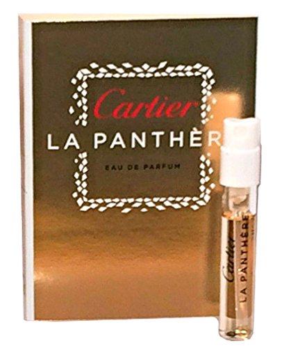 Cartier La Panthere Eau the Parfum Vial 1.5ml 0.05oz - Mini Travel Size (0.05 Ounce Parfum)