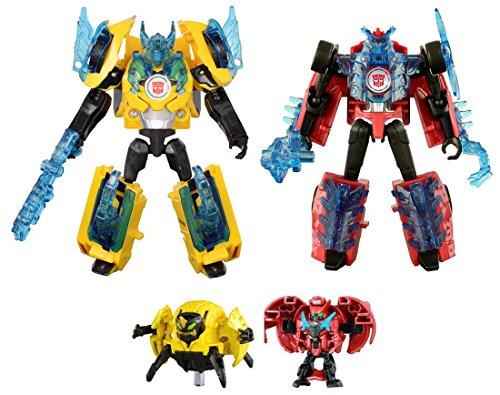 Transfomers TAV44 Bumblebee & Sideswipe Supreme Armor SetTAKARATOMY