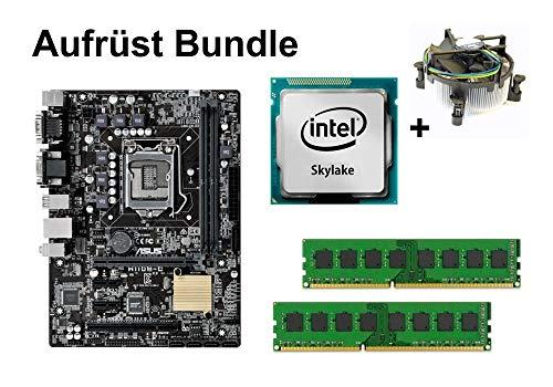 Aufrüst Bundle - ASUS H110M-C + Intel Core i7-6700 + 32GB RAM #112434